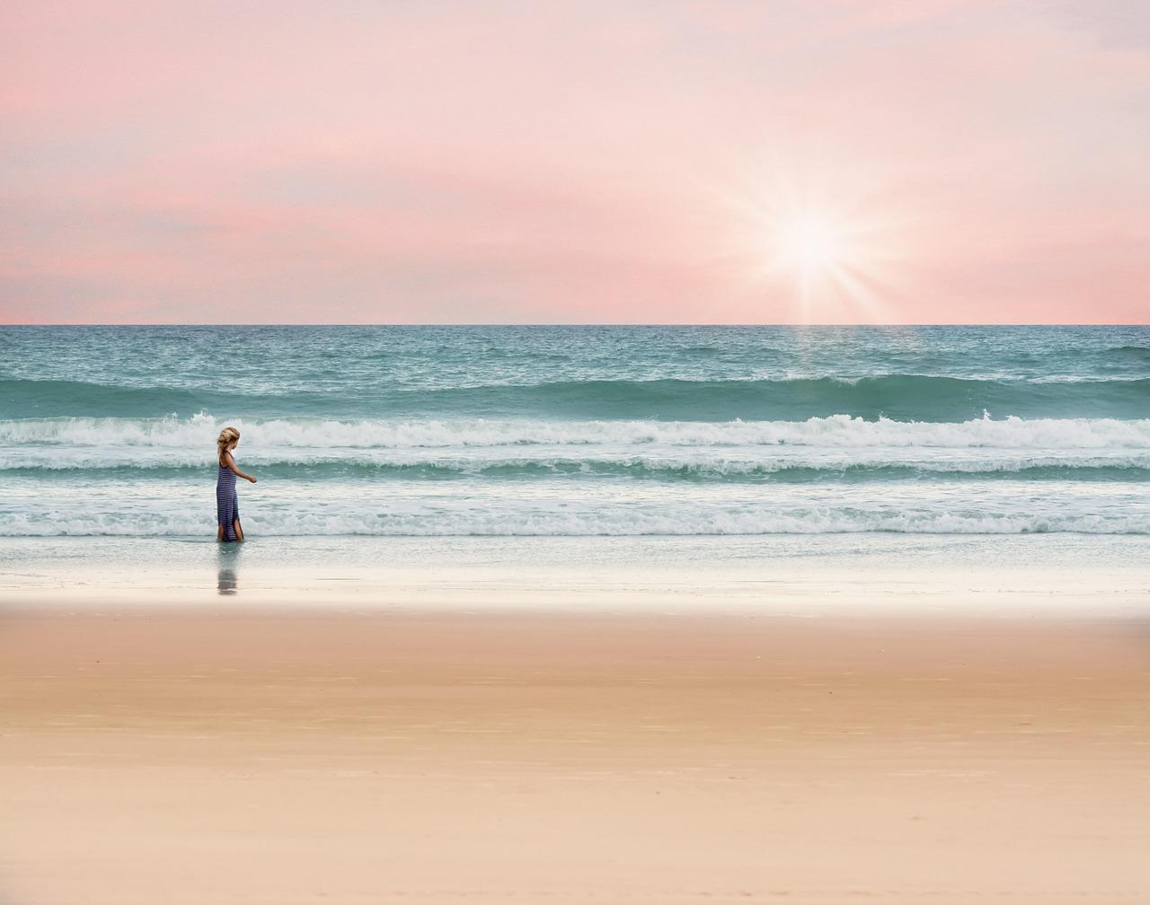 海でも日焼けから首を守るネックガード【マリンスポーツにオススメです】