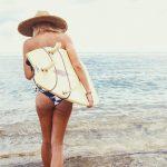サーフィンのカッコいい帽子とついに出会い